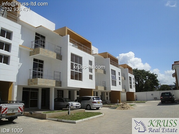 3 Bedroom Duplex apartment Available For Rent In Nyali