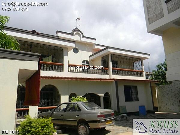 5 bedroom un-furnished spacious house for rent in Nyali