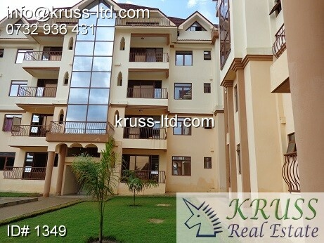 3 bedroom fully furnished apartments with a pool to let in Nyali