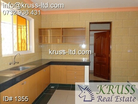 3 bedroom newly built apartments for rent in Nyali,