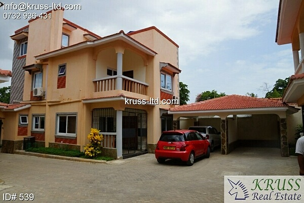 5 Bedroom Fully furnished House for rent In Nyali