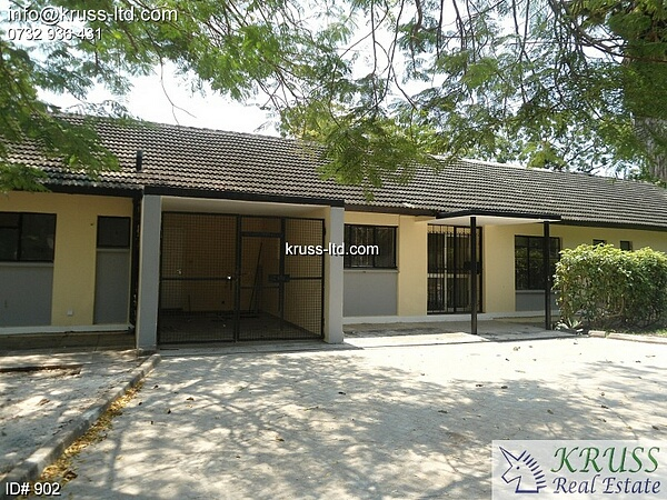 3 Bedroom Bungalow suitable for office/shop for rent in Nyali