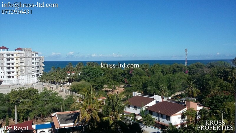 2 br apartment with great seaview for rent in nyali near naivas u0026 city mall