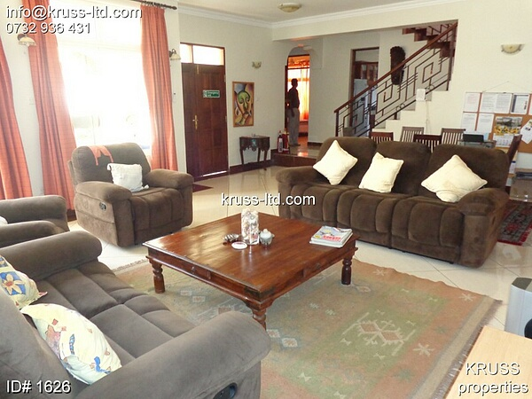 4 br  all bedrooms en-suite furnished  house to let in Nyali
