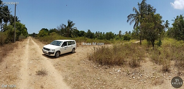 1/4 acre plots of land for sale behind pwani oil in Kikambala