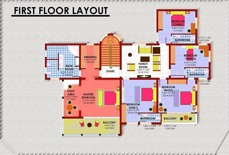 Houses for sale in mombasa kruss properties kenya for Apartment floor plans in kenya