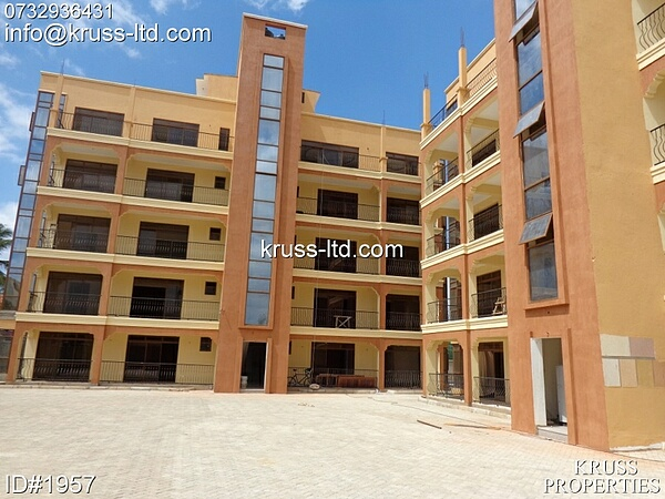 3br newly built apartment for rent in Nyali