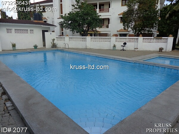 3 Bedroom apartment for rent in Nyali.