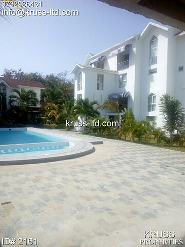 3 Bedroom fully furnished Duplex apartments for rent in Nyali