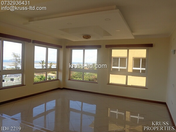 4 Bedroom all ensuite top notch luxury Apartments for Rent in Nyali.