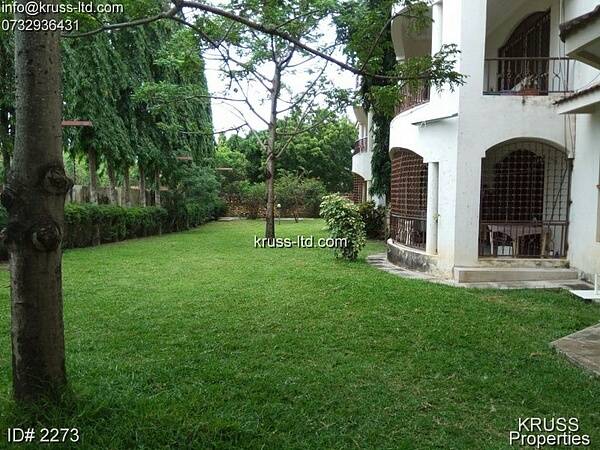 4 br very spacious apartment for rent in Nyali