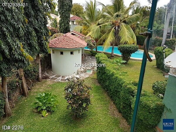 3 BR MASSIONATE RENOVATED HOUSE WITH POOL FOR RENT IN NYALI