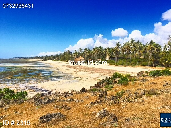 4  ACRE BEACH PLOT IN KIKAMBALA