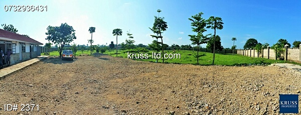 2 acre Farm Plot with improvements for sale in Kikambala