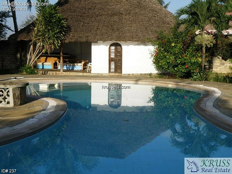 6 bedroom furnished villa house on mtwapa creek for rent