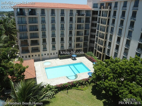 3 Bedroom  Apartment To Let In Bamburi Beach
