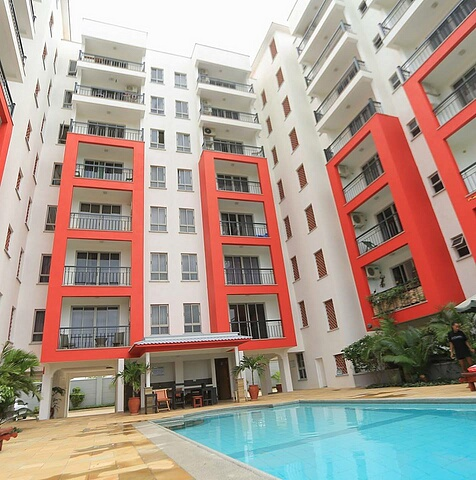 1br pool view apartment for rent at Shanzu Beach Homes