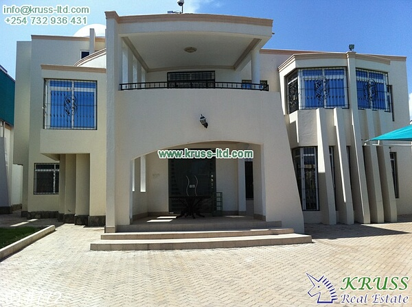 6 bedroom furnished modern house for sale in Nyali