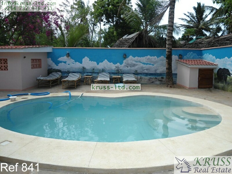 3 bedroom furnished bungalow house for rent in mtwapa