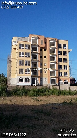 4 Br Apartments with SQ room  For Sale In Nyali near City Mall