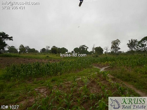 2.5 acre plot of land for sale in Mazeras