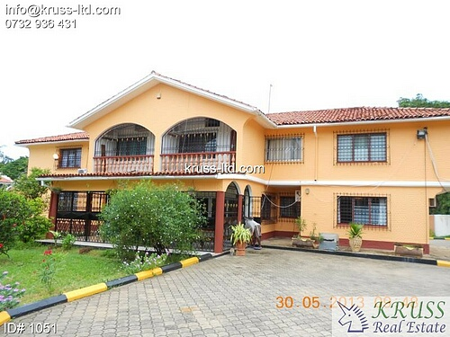 6 bedroom house in Nyali for rent as an office