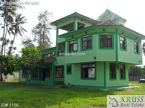 5 bedroom beach house in Kikambala for rent