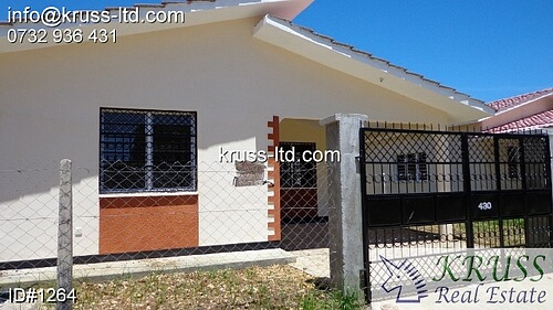 3 bedroom bungalow house for rent in Vescon Mtwapa