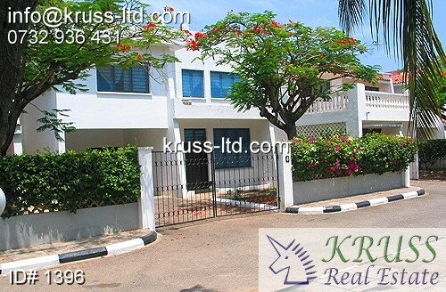 4 bedroom townhouse in Nyali to let