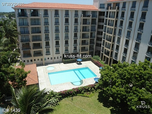 2 Bedroomun unfurnished Apartment To Let In Bamburi