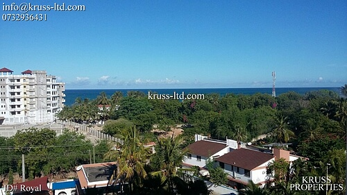 2 br apartment with GREAT SEAVIEW  for rent in Nyali, near Naivas & City Mall