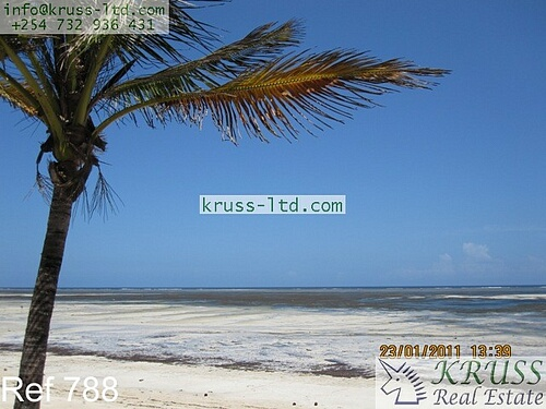 3 bedroom furnished beach house for rent in Kanamai/Kikambala