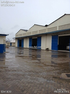Warehouse of 40,000 ft own compound in Changamwe for rent