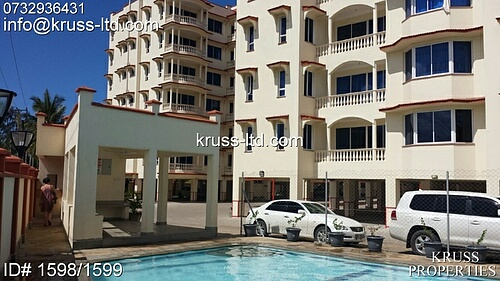 3br furnished apartment for rent near Naivas  Nyali