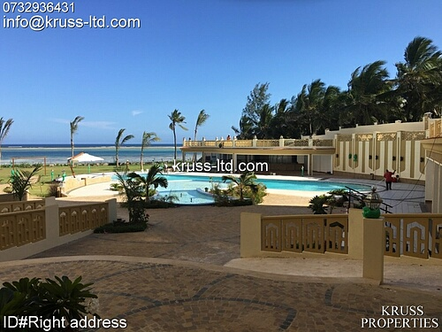 3br all-ensuite beach apartment with full ocean view for sale in Nyali