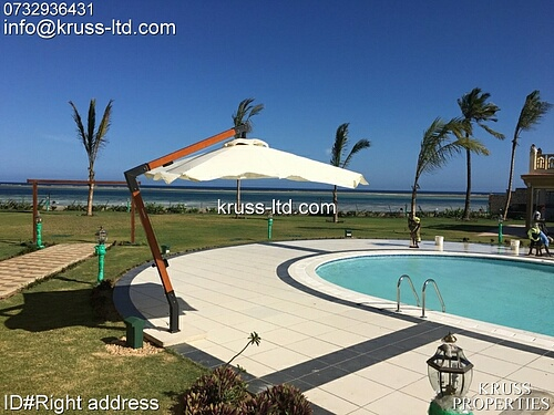 4br all-ensuite beach apartment for sale in Nyali