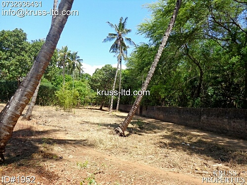 Quarter acre plot of land for sale in Majengo-Kikambala