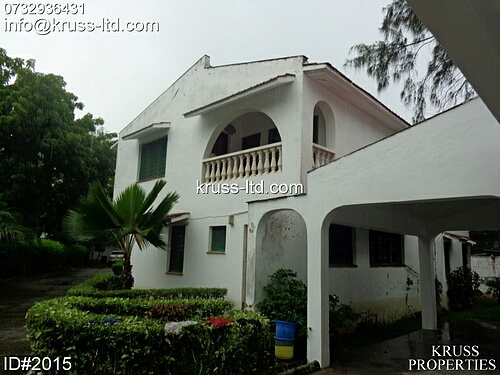 4 bedroom house for rent in Nyali near Greenwood