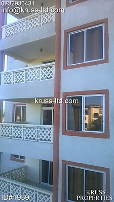 1br new spacious furnished apartment for rent in nyali