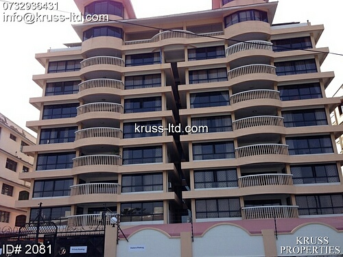 4br apartment with seaview available for rent in Kizingo