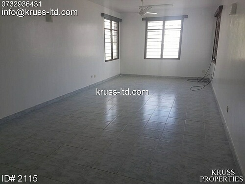 4br apartment for rent in Nyali Cinemax area