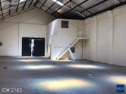 5000sq ft warehouse available for rent in Shimanzi near the Port