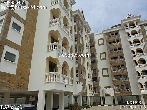 3br ocean view apartment for rent in Nyali near City Mall