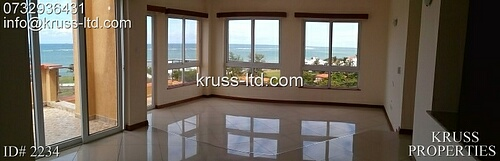 2 br luxury ocean view penthouse  Apartment for Rent in Nyali