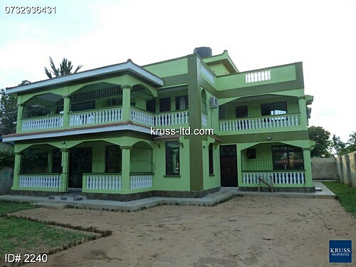7br house for sale in prime part of Mtwapa