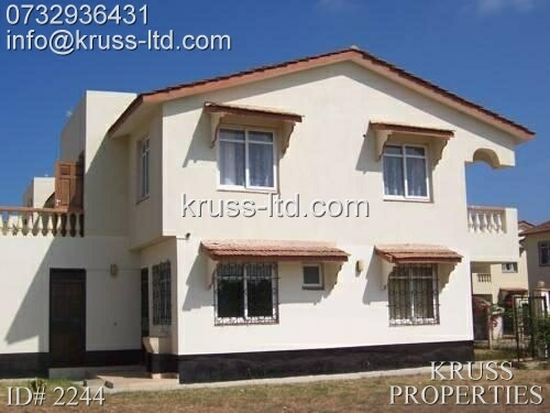 4br maisonette for rent in bandari villas bombolulu estate