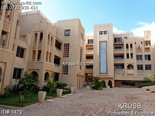 3br FURNISHED  apartment for rent in Nyali