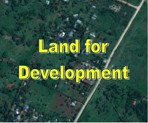 1.5 acre touching Nyali Golf for sale