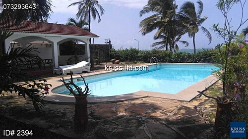 4 Bedroom Beach house for rent in Nyali