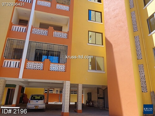3 Br Newly Built Ious Apartments For Rent In Nyali